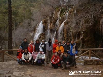Nacimiento del Río Cuervo; rutas por la sierra de madrid